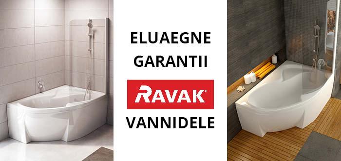 RAVAK - kaasaegsed, praktilised ja detailideni läbimõeldud vannitoad