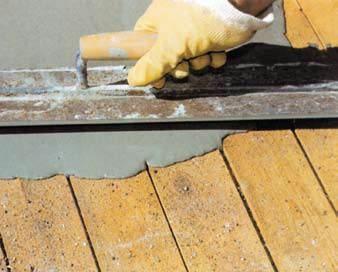 Põranda remondiks ja ehituseks vajalikud segud