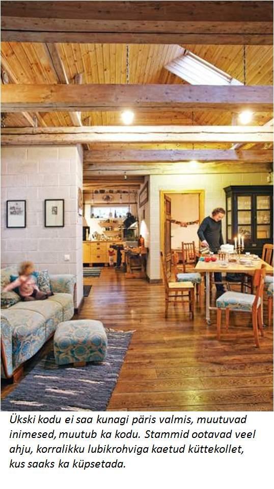 """Ajakirja """"Kodu ja aed"""" konkursi AASTA KODU 2010 võidukodu iseloomustab loovus ja julgus"""