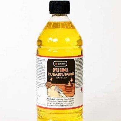 Tõhus puidu puhastusaine puhastab vana vaha, õli ja rasva