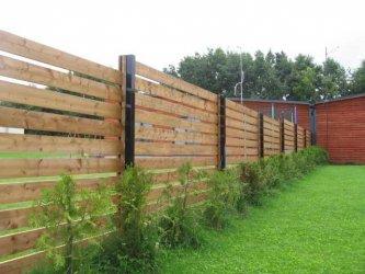 Immutatud puidu kasutamine piirdeaede rajamisel