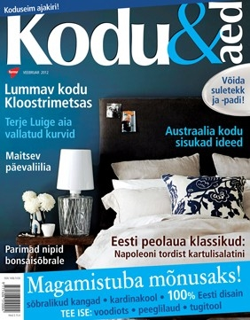ajakiri Kodu&Aed, veebruar 2012