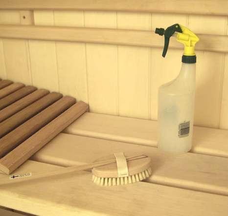 sauna puhastamine
