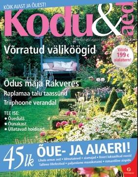 Ajakiri Kodu&Aed, august 2012