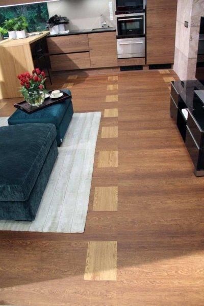 Pilt 14 - Köök-elutuba (põrand Floorin, köögimööbel Baltest mööbel, tumbad Softrend, vaip Monika Järg)