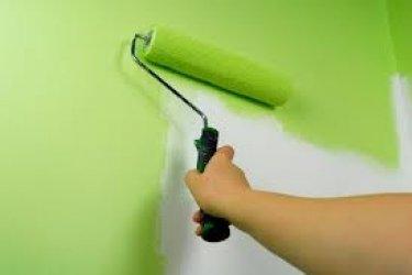 Tapeeditud seinast saab värvitud sein