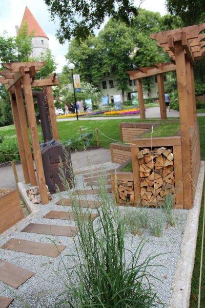 Saunast inspireeritud tervendav aed