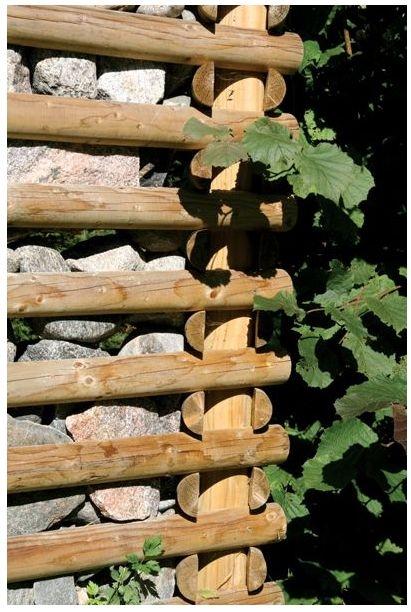 Tänu ümmargustele nurgapostidele saab sobiva pikkusega mooduleid paigaldada soovitud suunas, vajadusel kas või kaarjalt.