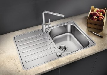 Pilt 15 - Võimalusterohke disainiga Blanco köögivalamud