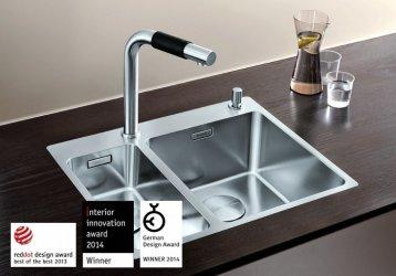 Pilt 21 - Võimalusterohke disainiga Blanco köögivalamud