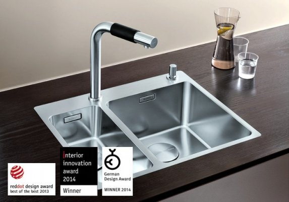 Pilt 25 - Võimalusterohke disainiga Blanco köögivalamud