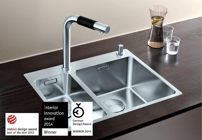 Võimalusterohke disainiga Blanco köögivalamud