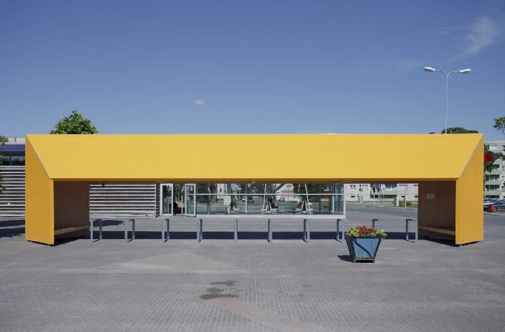Liimpuidu eripreemia kategoorias võitis Kadarik Tüür Arhitektide Rakveres asuv jalgrattahoidla oma huvitava funktsiooni ja uuendusliku liimpuidukasutusega.