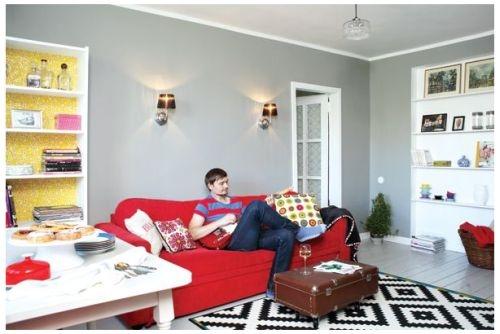 Väike avar taaskasutusest inspireeritud kodu Tallinnas