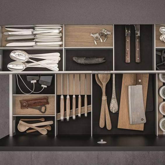 Köögikappidesse 30% rohkem ruumi SieMatic sisustussüsteemide abil