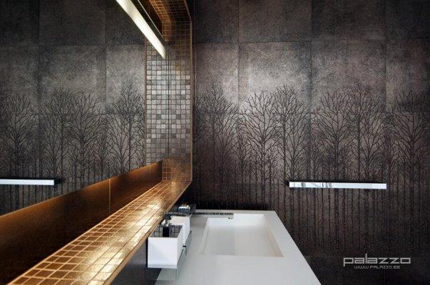 Pilt 2 - Kunstkivist valamu vannitoas. Palazzo Interiors