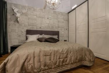 75 - Elegantne korter Tallinna südalinnas - moodsalt lahendatud vana