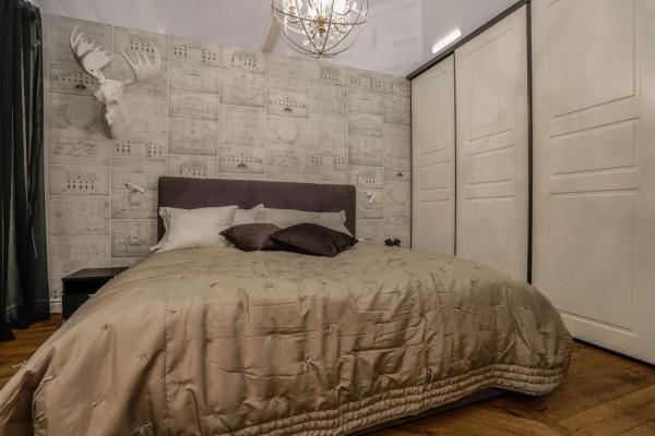 Pilt 9 - Elegantne korter Tallinna südalinnas - moodsalt lahendatud vana