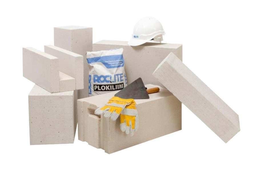 Müüriplokk ROCLITE aitab toasooja säästa
