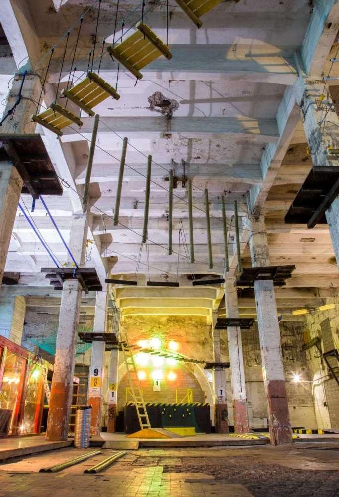 Megazone seikluskeskus üllatab maitseka sisekujunduse ja atraktsioonide rohkusega