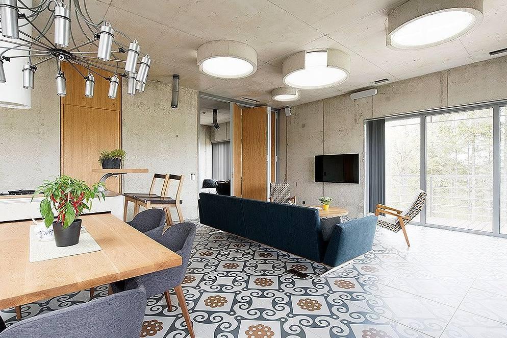 Efektne betoonisõbralik kodu Tallinnas - Aasta betoonehitis 2014 eriauhind