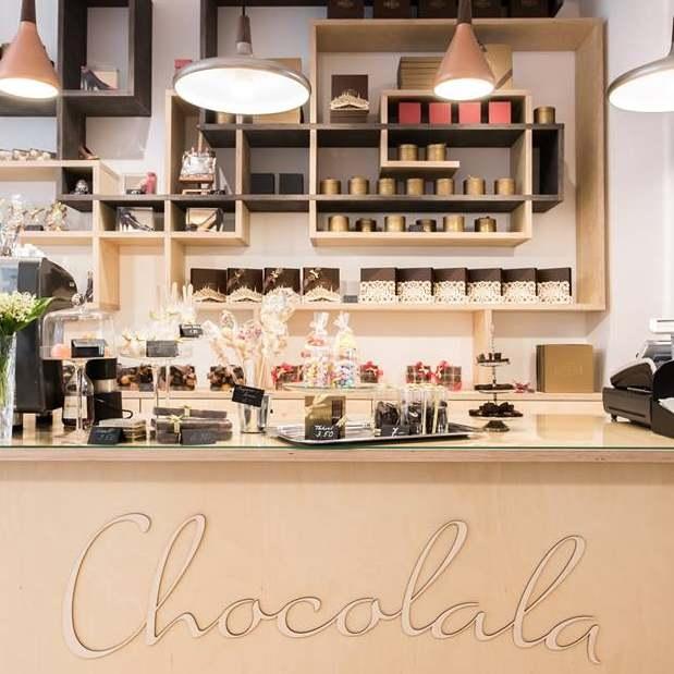 Suklaaliike Chocolala houkuttelee makuelämyksillään ja inspiroivalla  sisustussuunnittelullaan