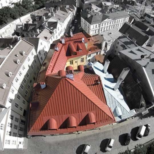 Metallkatus - Rataskaevu tn., Tallinn. Tööde teostaja OÜ Kindel Katus