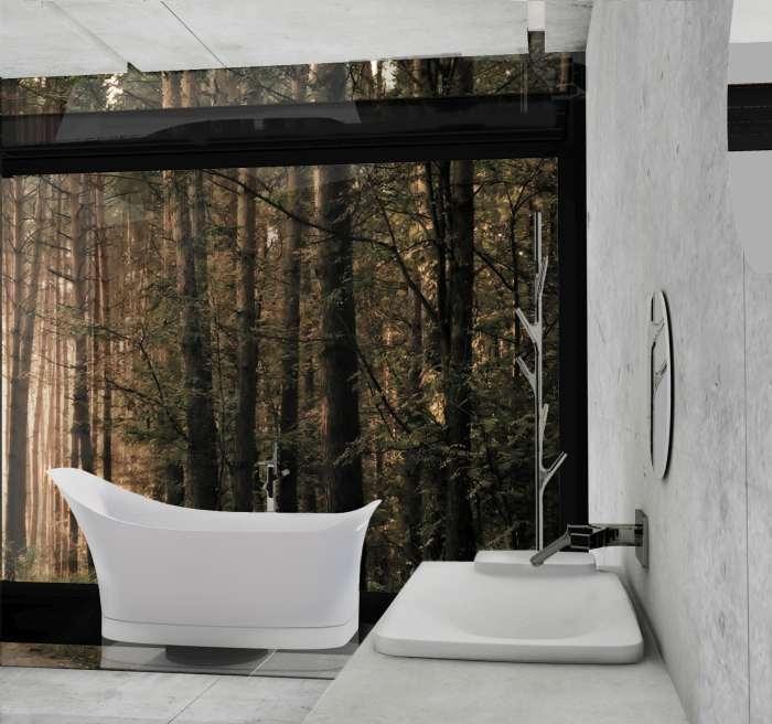 """Kolmanda Axor-Wermstock vannitoa disainikonkursi võitis EKA sisearhitektuuri eriala magistrant Kätlin Pesur tööga """"Elamise äärel"""""""