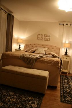 Pilt 3 - Sisekujundaja Monika Kaska kujundatud magamistuba Viljandis