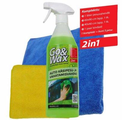 Go&Wax peseb ja vahatab sõiduki samaaegselt