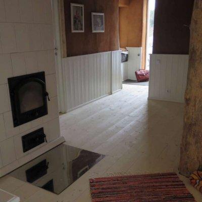 Põrandate seebitamine - alternatiiv põranda värvimisele, õlitamisele