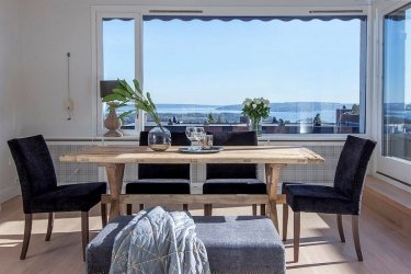 64 - Võrratu vaatega minimalistlik katusekorter Norras