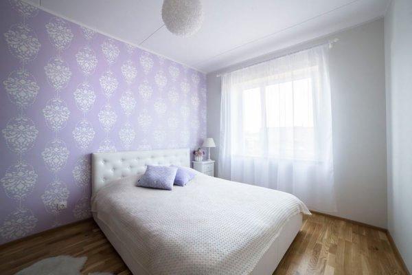 Pilt 17 - Seina värvimine šablooniga: unikaalne dekoreerimise viis