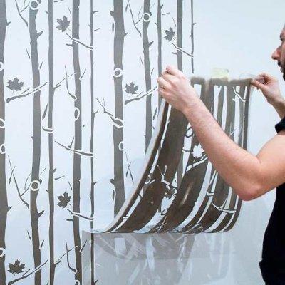StenCilit värvišabloonid - unikaalne seinte dekoreerimise viis