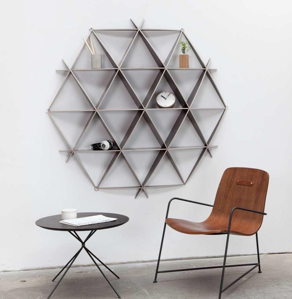 Jaanus Orgusaare looduse geomeetriast inspireeritud mööbel ja valgustid