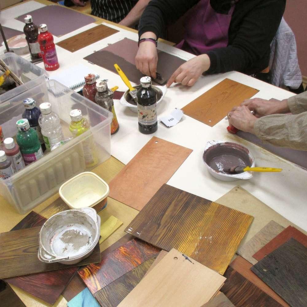 Vivendi puidu- ja paberistuudios on palju kursuseid käsitöösõpradele