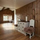 Puitu ei saa põhjamaalase kodus kunagi olla liiga palju - pere puhkemaja Norra mägedes