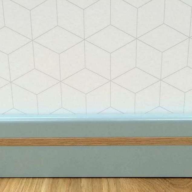 Põhjamaised värvitud põrandaliistud ja laudis on moes