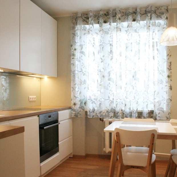 Köök enne ja pärast remonti