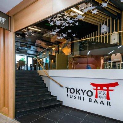 Jaapani paberikunstist inspireeritud sushibaar Tokyo Tartu ärikeskuses Kvartal