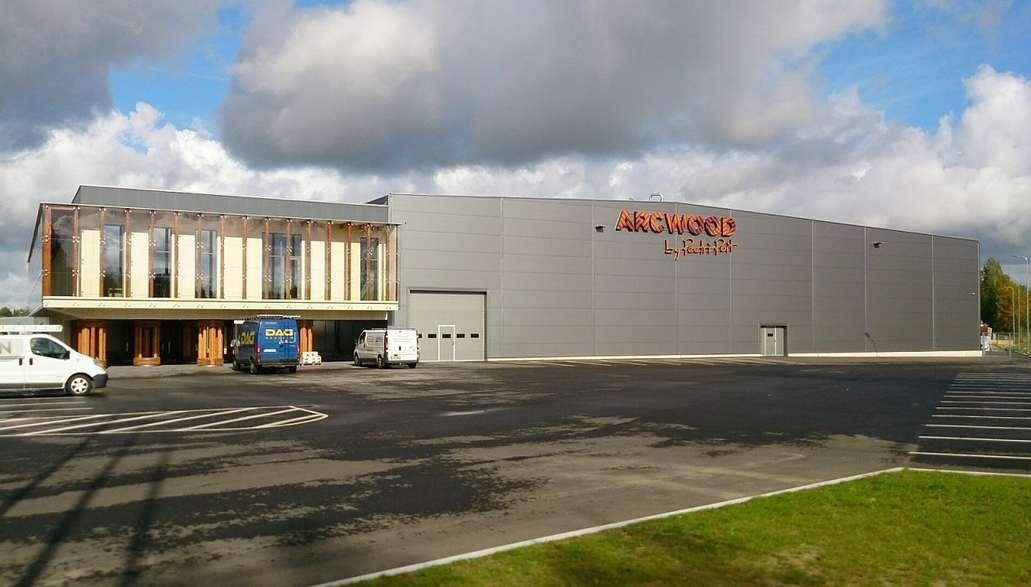 Arcwoodi tehasekompleks Põlvas