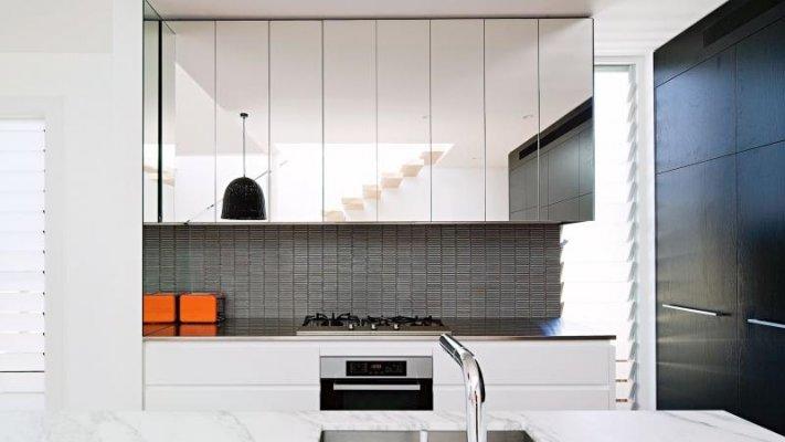 Pilt 6 - Peegliga köögikapi uksed