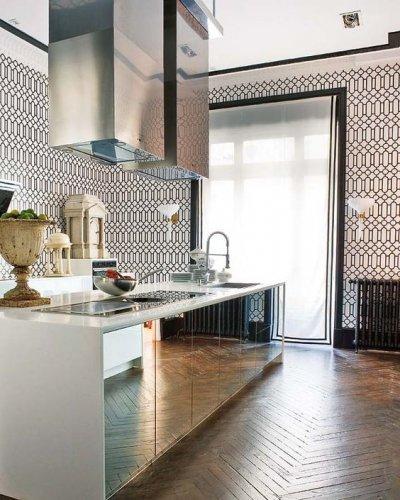 Pilt 5 - Peegel köögisaarel