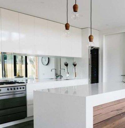 Kas oled mõelnud peegli kasutamise peale köögis?
