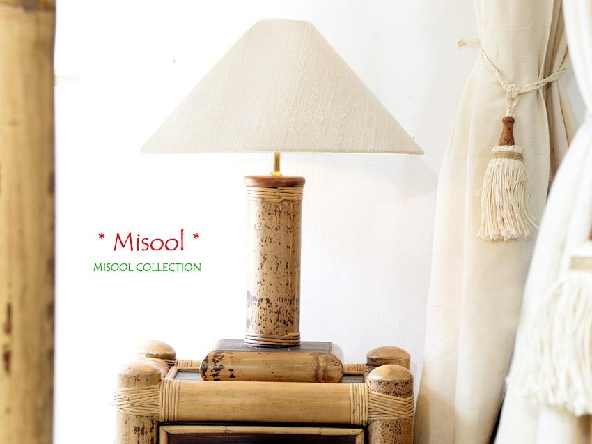 Misool bambusest valgusti