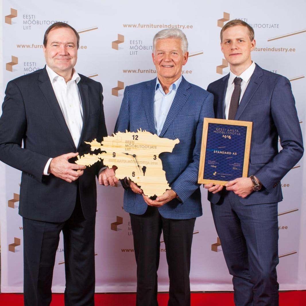 Eesti aasta mööblitootja 2016 on Standard AS