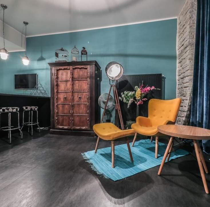 Koduselt hubane, armsalt värviline ja moodsalt industriaalne - kõik ühes muinasjutulises interjööris