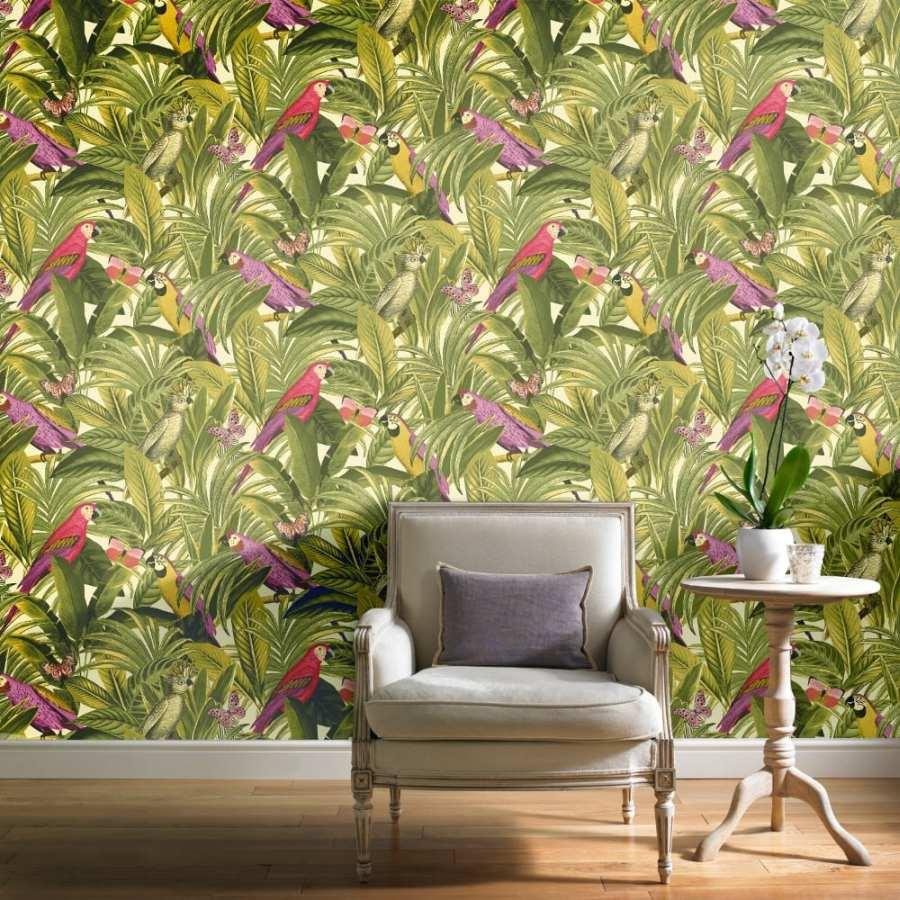 Troopilised motiivid seinale ja suvi on kodus aastaringselt