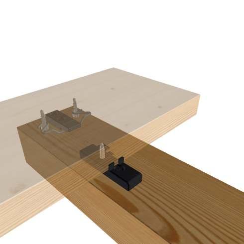 Terrassiehituseks - uuenduslikud SIHGA terrassiklambrid, terrassikandurid, terrassikruvid jpm