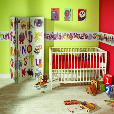 Pilt 47 - Lastetuppa loo efekti erilise tapeediga